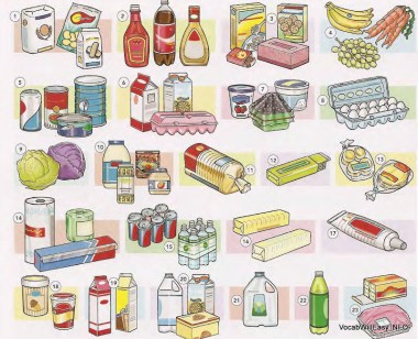 CONTAINERS٪ 20AND٪ 20QUANTITIES نوٽس، کاڌو QUANTITIES